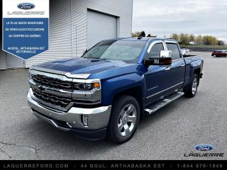 Used 2018 Chevrolet Silverado 1500 LTZ cabine multiplace 143,5 po 4RM avec for sale in Victoriaville, QC