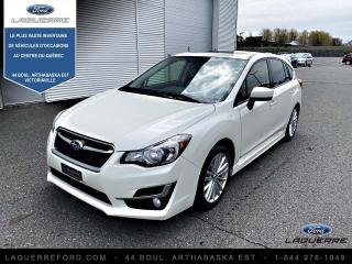 Used 2015 Subaru Impreza 2.0i Groupe Sport à hayon 5 portes CVT a for sale in Victoriaville, QC
