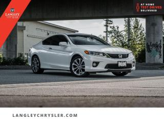 Used 2015 Honda Accord Coupe EX-L W/NAVI  Low KM/ Locally Driven/ Navi/ Sunroof/ Leather for sale in Surrey, BC