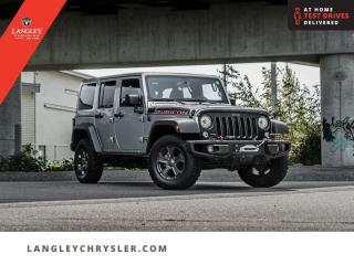 Used 2017 Jeep Wrangler Unlimited Rubicon  LED Group/ Winch/ Dual Tops/ Navi for sale in Surrey, BC