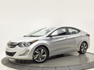 Used 2016 Hyundai Elantra GLS MANUELLE AIR CLIMATISÉ CAMERA DE RECUL for sale in Brossard, QC