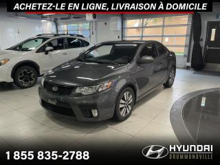 Used 2013 Kia Forte Koup EX + GARANTIE + TOIT + A/C + MAGS + WOW for sale in Drummondville, QC