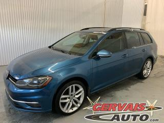 Used 2018 Volkswagen Golf Sportwagen Comfortline 4Motion AWD Cuir Toit Panoramique MAGS *Traction intégrale* for sale in Trois-Rivières, QC