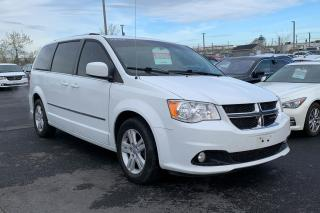 Used 2016 Dodge Grand Caravan CREW STOW & GO TV DVD CUIR NAV  MAGS for sale in St-Hubert, QC