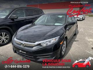 Used 2017 Honda Civic 4 portes, boîte manuelle, LX for sale in Chicoutimi, QC