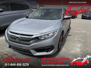 Used 2017 Honda Civic EX 4 portes CVT for sale in Chicoutimi, QC