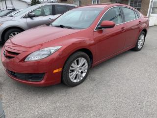 Used 2010 Mazda MAZDA6 Berline 4 portes I4, boîte automatique, for sale in Pointe-Aux-Trembles, QC