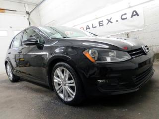 Used 2015 Volkswagen Golf TDI HIGHLINE CUIR TOIT PANO. CAMERA MAGS for sale in St-Eustache, QC