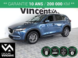 Used 2018 Mazda CX-5 GX AWD ** GARANTIE 10 ANS ** Habitacle raffiné et silencieux! for sale in Shawinigan, QC