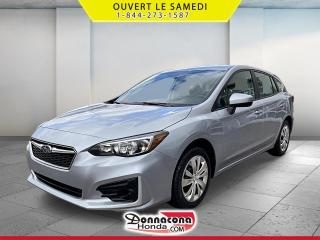 Used 2018 Subaru Impreza 2.0i *MANUELLE* TRACTION INTEGRALE* for sale in Donnacona, QC