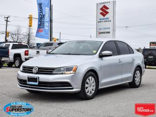 Used 2015 Volkswagen Jetta Trendline ~Heated Seats ~Backup Camera ~Bluetooth for sale in Barrie, ON