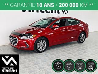 Used 2017 Hyundai Elantra GL ** GARANTIE 10 ANS ** Véhicule à très faible kilométrage! for sale in Shawinigan, QC