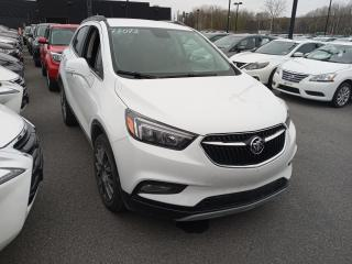 Used 2017 Buick Encore SPORT TOURING AWD A/C MAGS CAMERA DE RECUL for sale in Île-Perrot, QC