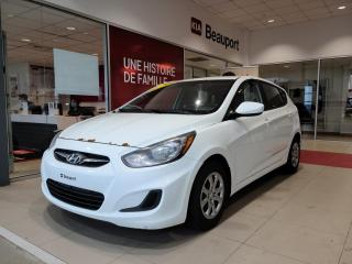 Used 2014 Hyundai Accent Voiture à hayon, 5 portes, boîte manuell for sale in Beauport, QC