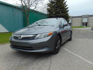 Used 2012 Honda Civic ****AUTOMATIQUE******INSPECTÉ****** for sale in St-Eustache, QC