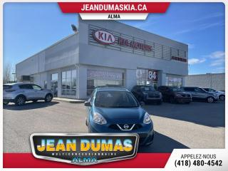 Used 2015 Nissan Micra S à hayon 4 portes BM for sale in Alma, QC