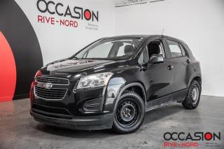Used 2014 Chevrolet Trax LS A/C+BLUETOOTH+GR.ELECTRIQUE for sale in Boisbriand, QC