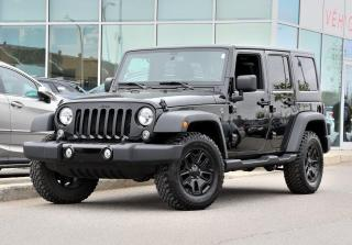 Used 2017 Jeep Wrangler Willys Wheeler AUTO 4X4 WILLYS for sale in Lachine, QC