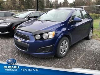 Used 2012 Chevrolet Sonic Berline 4 portes LT for sale in Victoriaville, QC