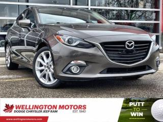 Used 2014 Mazda MAZDA3 GT-SKY/ New Front Brake Pads & Rotors !! for sale in Guelph, ON