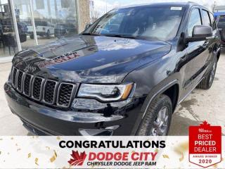 New 2021 Jeep Grand Cherokee 80th Anniversary Edition-4WD,Nav,Park Assist for sale in Saskatoon, SK