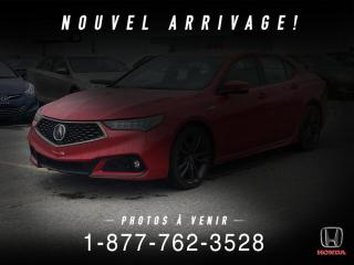 Used 2018 Acura TLX TECH + A-SPEC + NAVI + TOIT + MAGS + WOW for sale in St-Basile-le-Grand, QC