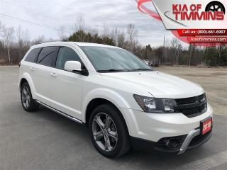 Used 2018 Dodge Journey Crossroad   Factory DVD Sunroof- $207 B/W for sale in Timmins, ON