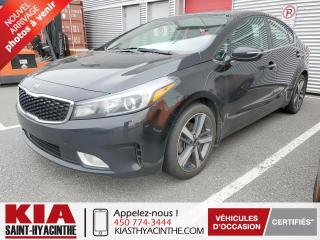 Used 2017 Kia Forte SX ** NAVI / CUIR / TOIT for sale in St-Hyacinthe, QC