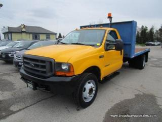 Used 2001 Ford F-450 WORK READY XL-SUPER-DUTY-EDITION 3 PASSENGER 7.3L - TURBO DIESEL.. TWO-WHEEL DRIVE.. 13'.6