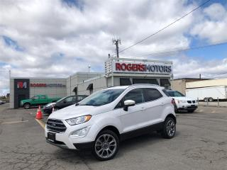 Used 2018 Ford EcoSport 2.99% Financing - TITANIUM 4WD - NAVI - SUNROOF - LEATHER for sale in Oakville, ON