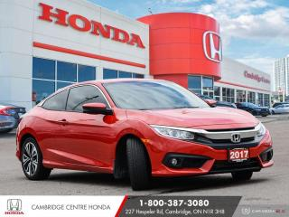 Used 2017 Honda Civic EX-T APPLE CARPLAY™ & ANDROID AUTO™ | LANEWATCH™ CAMERA | REARVIEW CAMERA for sale in Cambridge, ON