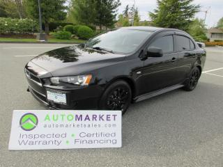 Used 2014 Mitsubishi Lancer SE AWD/AWC APPLE/ANDROID CAR PLAY, INSPECTED, FINANCING, FREE WARRANTY & BCAA MEMBERSHIP! for sale in Surrey, BC