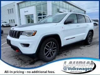 Used 2017 Jeep Grand Cherokee TRAILHAWK 4x4 for sale in PORT HOPE, ON