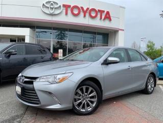 Used 2016 Toyota Camry 4-Door Sedan XLE 6A for sale in Surrey, BC