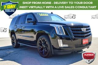 Used 2016 Cadillac Escalade Premium Collection APPLE CAR PLAY for sale in Grimsby, ON