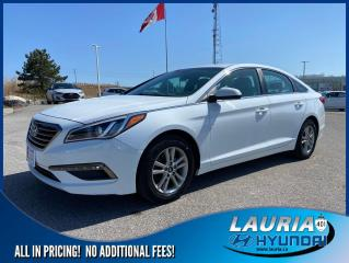 Used 2015 Hyundai Sonata GL Auto - Low kms for sale in Port Hope, ON