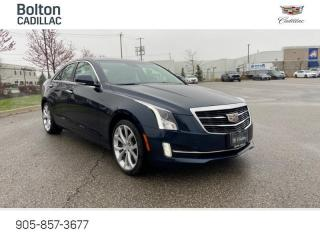Used 2017 Cadillac ATS 3.6L Premium Luxury 335hp, Heads Up for sale in Bolton, ON