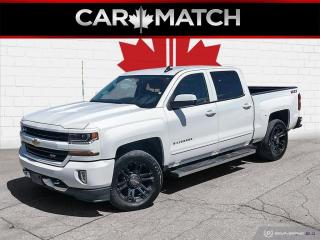 Used 2017 Chevrolet Silverado 1500 Z71  / 4X4 / CREW CAB / NAV / 74,832 KM for sale in Cambridge, ON