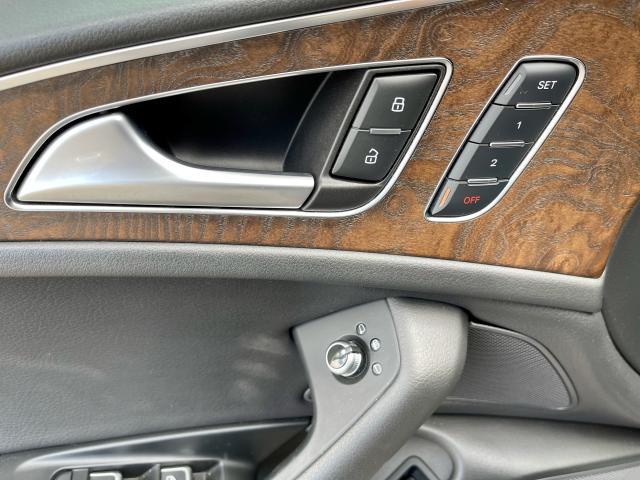 2016 Audi A6 3.0L TDI Progressiv Navigation /Camera/Sunroof Photo15