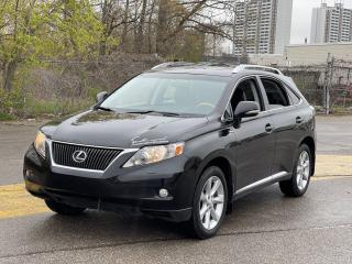 Used 2010 Lexus RX 350 PREMIUM AWD NAVIGATION/REAR VIEW CAMERA for sale in North York, ON