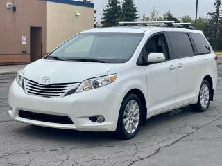Used 2013 Toyota Sienna Limited AWD Navigation /DVD/Sunroof /Leather for sale in North York, ON