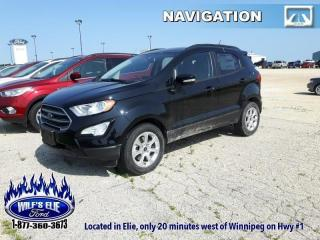 New 2019 Ford EcoSport SE for sale in Elie, MB