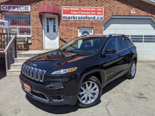 2014 Jeep Cherokee Limited Leather Panoramic Sunroof Navigation BT