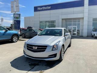 Used 2018 Cadillac ATS Sedan LUXURY AWD/TURBO/SUNROOF/LEATHER/HEATEDSEATS for sale in Edmonton, AB