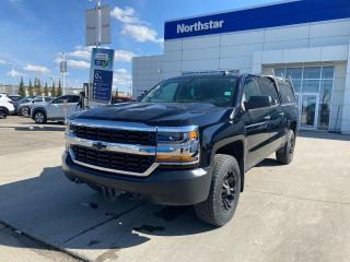 Used 2017 Chevrolet Silverado 1500 CREWCAB/CANOPY/HEADRACK/V8/GREATWORKTRUCK for sale in Edmonton, AB