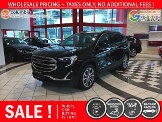 Used 2020 GMC Terrain SLT - Accident Free / No Dealer Fees / Nav / Leather for sale in Richmond, BC