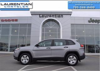 Used 2016 Jeep Cherokee Sport - 4WD !! BACKUP CAM !! for sale in Sudbury, ON