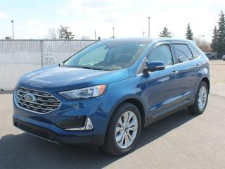 New 2021 Ford Edge Titanium | AWD | Panoramic Roof | NAV | Heated Steering | hitch for sale in Edmonton, AB