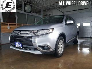 Used 2017 Mitsubishi Outlander ES  4WD   WE ARE OPEN FOR BUSINESS!! for sale in Barrie, ON