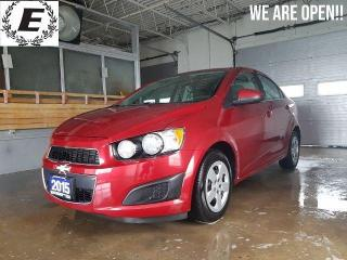 Used 2015 Chevrolet Sonic LT   WE ARE OPEN FOR BUSINESS!! for sale in Barrie, ON